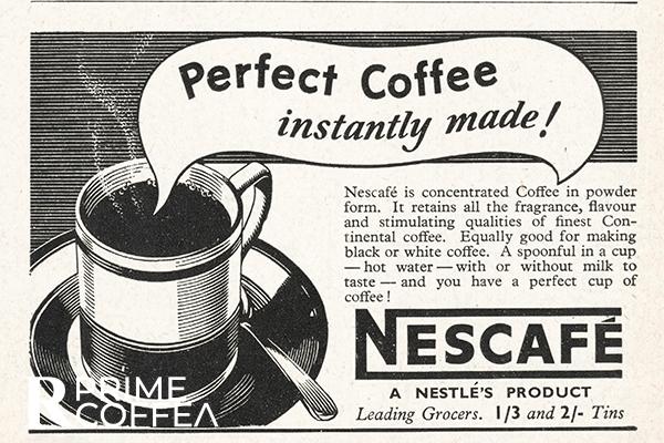 Câu chuyện lịch sử của cà phê hòa tan | PrimeCoffee