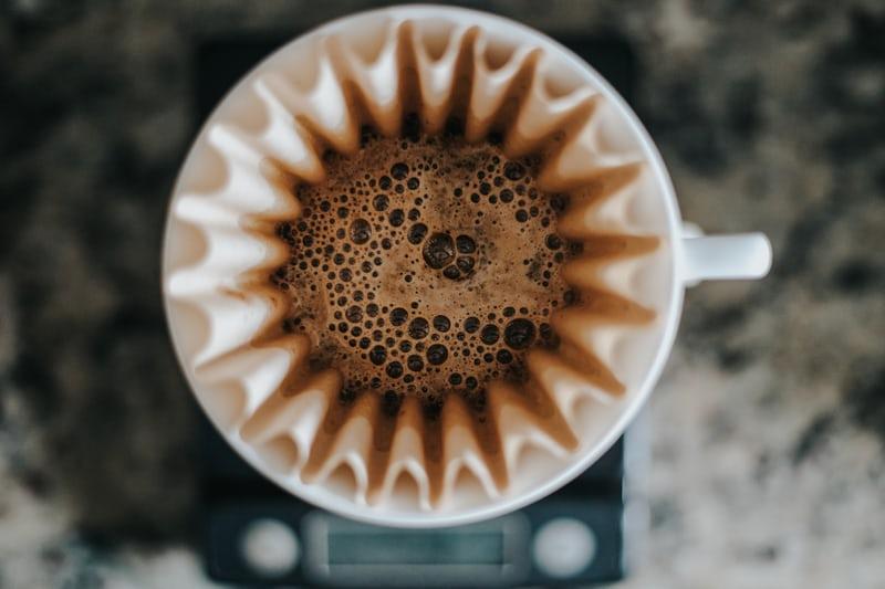 Read more about the article Nguyên lý của việc ngâm ủ cà phê (Prewetting) | PrimeCoffee