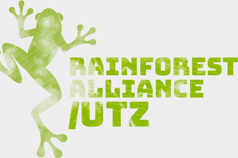 Chứng nhận Rainforest Alliance / UTZ trên cà phê | Primecoffee